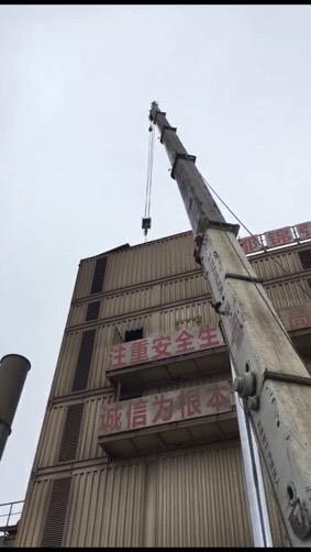 成都沥青厂70吨吊装设备维修-【成都吊车出租】